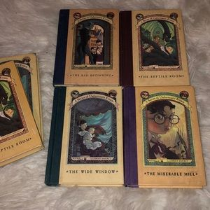 Other - A series of unfortunate events hardcover novels